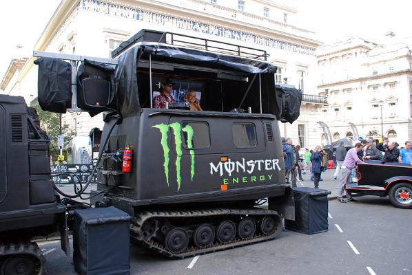 Gorilla_Hagglund_Hire_GumballRally2009_MonsterEnergyDJ_ChristianStevenson